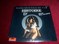VERONIQUE LORTAL  / NEVER WILLYOU KNOW  + O'S THEME  ° BO HISTOIRE D'O No2 - Soundtracks, Film Music