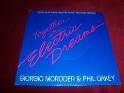 GIORGIO MORODER & PHIL OAKEY  TOGETHER IN ELECTRIC DREAMS   ° BO  ELECTRIC DREAMS - Soundtracks, Film Music