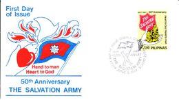 Philippines Envelope FDC 1987 - Philippines