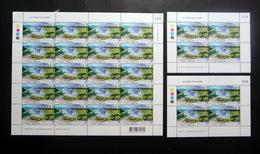 Thailand Stamp 2013 111th Anniversary Of Royal Irrigation Department  - FS + Miniature BLK4 (3) Match# - Thailand