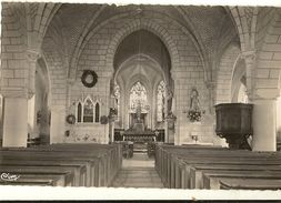 49 - ( Cpsm Pf )   Varennes Sur Loire - Intérieur De L'Eglise  136 - France