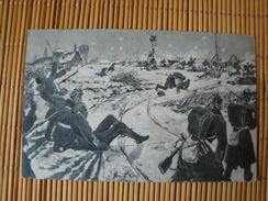 Die 83er Bei Loigny Poupry, Heldentod Des Kommandeurs III/83, Gelaufen 1912 - Guerra 1914-18