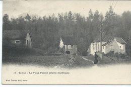 Semur,le Vieux Foulon,usine Electrique - Semur
