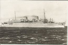 NAVE VICTORIA VIAGGIATA 1940   (459) - Barche