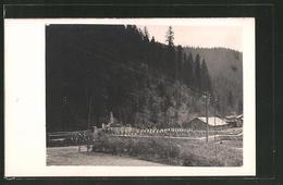 Photo-CPA Totale Von Monument Et Friedhof Eines Jäger-Bataillons. - War 1914-18