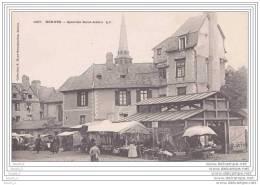 35) Rennes.- Quartier Saint  Aubin  G. F. -  (belle Animation : Jour De Marché : Carte Précurseur) - Rennes