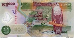 ZAMBIE 1000 KWACHA 2009 P-44g NEUF  [ZM146g] - Zambie