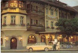 HOTEL MARKTPLATZ GARMISCH AFFRANCATURA MISTA ITALIA GERMANIA - Garmisch-Partenkirchen