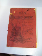 Liv. 203. Catalogue De La Maison Dujardin Lammens, Rue Saint Jean  à Bruxelles De 1894-1895. - Livres, BD, Revues