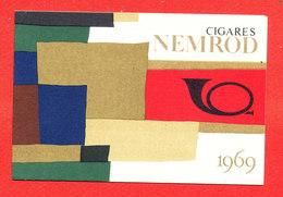 Calendrier Cigares Nemrod 1969 Petit Format - Petit Format : 1961-70
