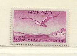 MONACO  ( D18 - 3797 )   1941  N° YVERT ET TELLIER  N° 6  N* - Airmail