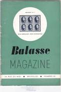 BALASSE MAGAZINE N° 85 - Belgique