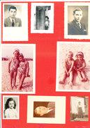 Lot De 20 Photos Originales - Personnes Anonymes