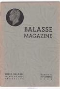 BALASSE MAGAZINE N° 11 - Belgique