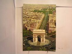 Paris - L'Arc De Triomphe Et Les Champs Elysées - Arc De Triomphe
