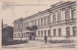 Kowno Kaunas Das Haus Des Russ Festungskomandanten 1915 - Litauen