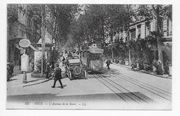 DC 850 - NICE - L'Avenue De La Gare. - LL 127 - Transport (road) - Car, Bus, Tramway