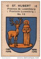 Wapenzegel Koffie Hag / Vignette (Blason, Armoiries) Café Hag : Saint-Hubert - Old Paper