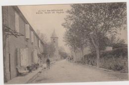 Le Puy Ste Réparade  --  Entrée Route De Rognes - France