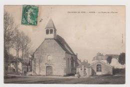 Paron --  La Place De L Eglise - Paron