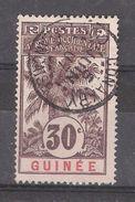 GUINEE FRANCAISE 1906 Type Palmier Yvert N° 40 , 30 C Brun Obl Cachet CONAKRY, SUPERBE !! - Usados
