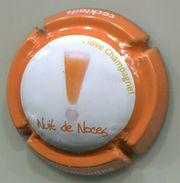 CAPSULE-906a-CHAMPAGNE-Série Cocktails Contour Orange Recette-Nuit De Noces - Champagne