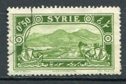 Yv. N°  156  (o)   0pi50,  Sites     Cote  0,4 Euro  BE  2 Scans - Syrien (1919-1945)