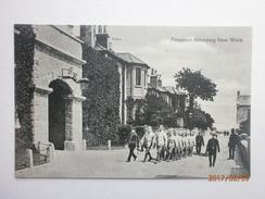 Postcard Prisoners Returning From Work My Ref  B11624 - Prison