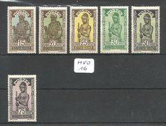 HVO YT 48 à 51/54/56 * - Upper Volta (1920-1932)
