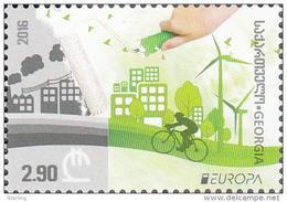 Georgia 2016 Mi# 685 Europe CEPT Think Green * * - Georgia