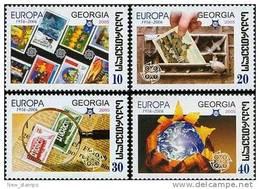 Georgia 2006 50th Ann. Of 1st Europa Stamp 4v MNH - Georgia