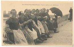 Etienne BOUILLE , Bretagne - Les Fritouzaines Bigoudennes - Peintures & Tableaux