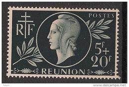 Réunion - 1944 - N°Yv. 251 - Entraide - Neuf Luxe ** / MNH / Postfrisch - Réunion (1852-1975)