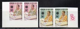 - HAUTE-VOLTA - Yvert & Tellier N° 597/98 X 2 Neufs ** NON DENTELES 1983 - 30 F. + 35 F. COMMUNICATIONS - - Upper Volta (1958-1984)