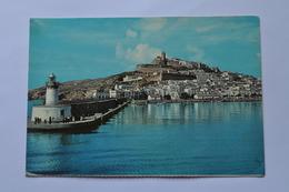 SPAIN LIGHTHOUSE IBIZA. BEACON. IBIZA. FARO BOTAFOCH   892a - Lighthouses