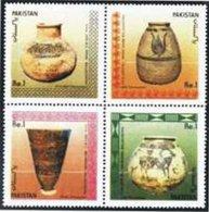 PAKISTAN SG 0767-70 ARCHEOLOGY SETENENT - Pakistan