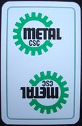 Joker CSC METAL Syndicat. - Playing Cards (classic)