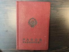 PASSPORT   REISEPASS  PASSAPORTO  YUGOSLAVIA  1962.  VISA TO : GERMANY - Historische Dokumente