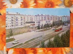 Postcard Barnaul. Severo-zapadnaya Uliza - TRAM - TRAMWAY - 1971 - Strassenbahnen