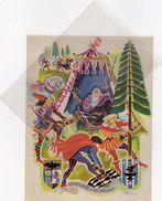 GRAVURE DESSIN DE RAOUL AUGER 1949- LE VIEILLARD ET SES ENFANTS  -FABLES DE LA FONTAINE - Prints & Engravings