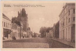 Wijnegem. Gemeenteplaats En Turnhoutsesteenweg. - Wijnegem