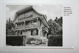 Allemagne : Haus Tannenhot - Besitzer Moritz Muller - Hinterzarten