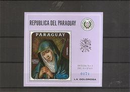 Madones ( B139 XXX -MNH- Du Paraguay) - Madonnen