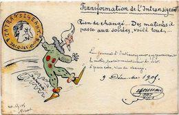 CPA Sucre Sugar Jacques Premier Lebaudy Sahara Carte Ancienne 9X14  Satirique Caricature Circulé Par BURSKY Rochefort - Satirical