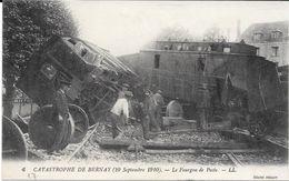 27 - Catastrophe De Bernay (10/09/1910) N° 6 - Le Fourgon De Poste - TBE - Bernay