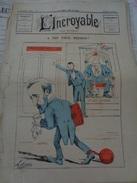 L'INCROYABLE.4 Pages.(SD.vers 1873) Deuxième Série-n°5.première édition. Manque Sur Le Coté Gauche. - Journaux - Quotidiens