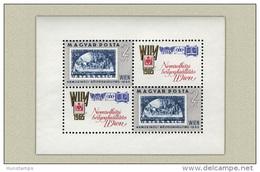 Hungary 1965. WIPA Exhibition Sheet MNH (**) Michel: Block 47 A / 9 EUR - Blocks & Sheetlets