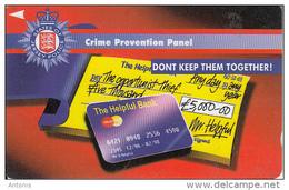 JERSEY ISL.(GPT) - Police/Crime Prevention Panel, CN : 41JERB(normal 0), Tirage %19700, Used - Verenigd-Koninkrijk