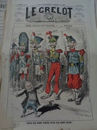 Le Grelot.7e Année.n°320.directeur-gérant,J.MADRE.27 MAI 1877. Nos Sous-officiers Par Pépin.manque Le Coin Gauche En Bas - Journaux - Quotidiens
