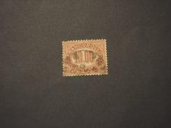 ITLIA REGNO - SERVIZIO - 1875 CIFRA  L.10 - TIMBRATO/USED - Servizi